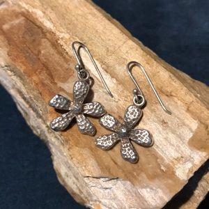 Silpada Sterling Silver Flower Earrings